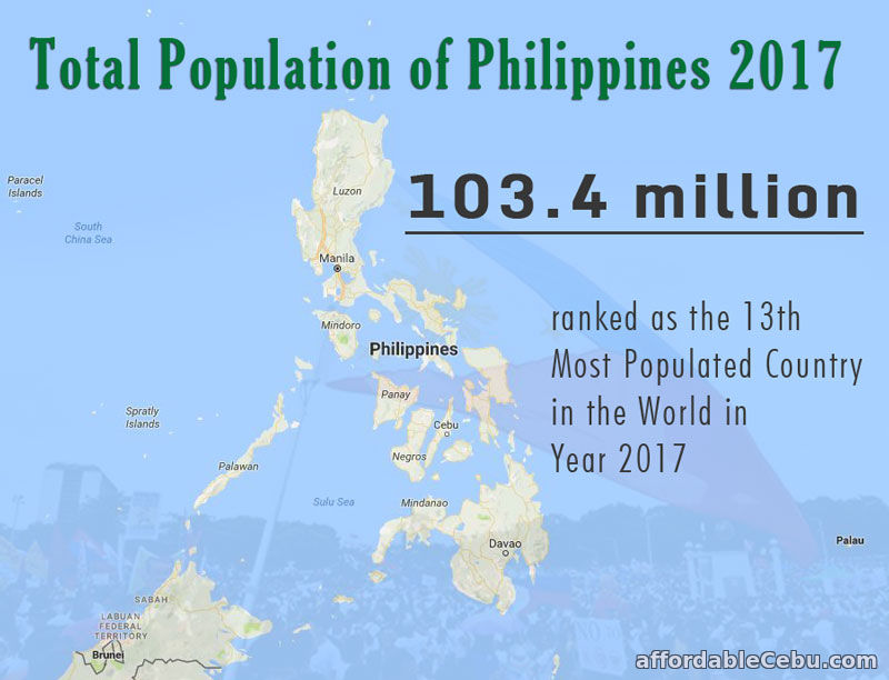 Total Population of Philippines 2017