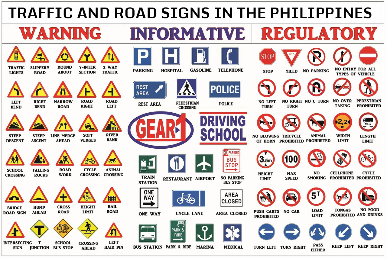 List Of Traffic Signs In The Philippines Philippine Government 30228