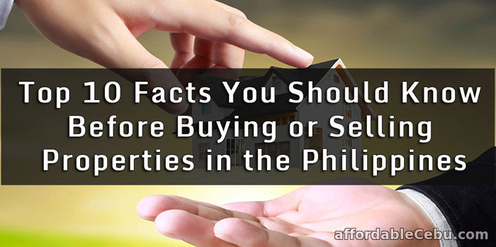 Buying and Selling Real Estate Properties in Philippines