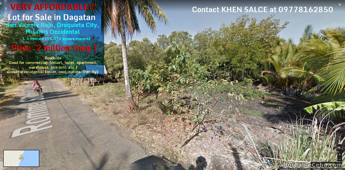 Lot for Sale in Oroquieta City Misamis Occidental
