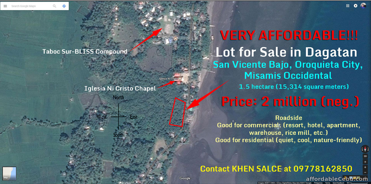 Lot for Sale in Oroquieta City, Misamis Occidental