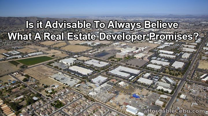 Real Estate Developer Promises Problems