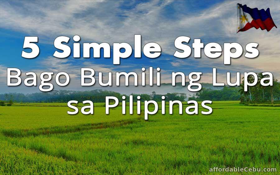 Steps Bago Bumili ng Lupa sa Pilipinas (Philippines)