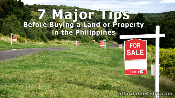 Tips Before Buying a Property in Philippines