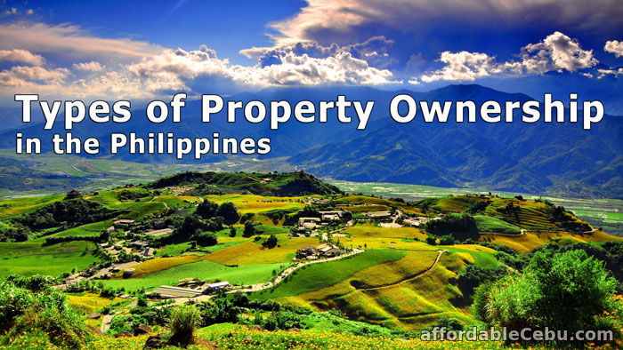 Types of Property Ownership in Philippines