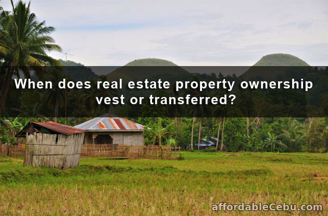 Real Estate Property Transferred