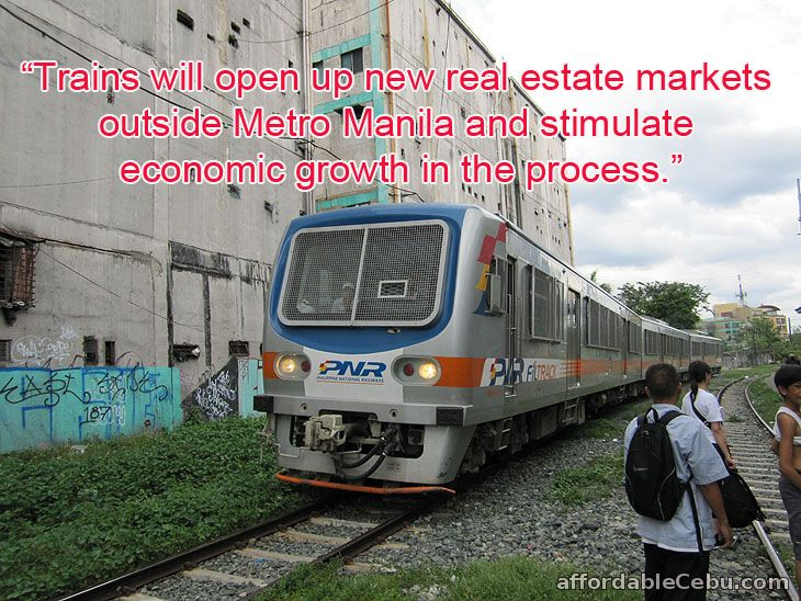 Trains for Real Estate Development Growth