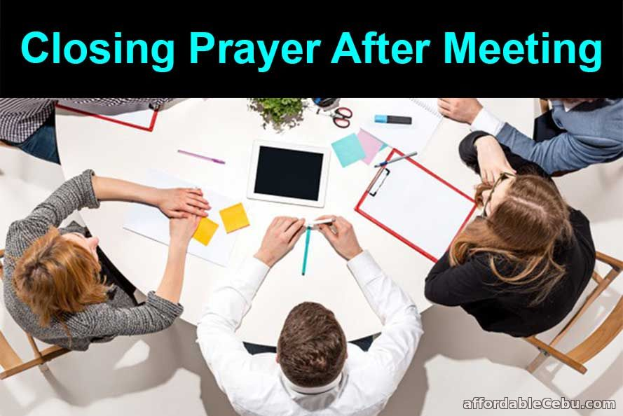 Closing Prayer After Meeting