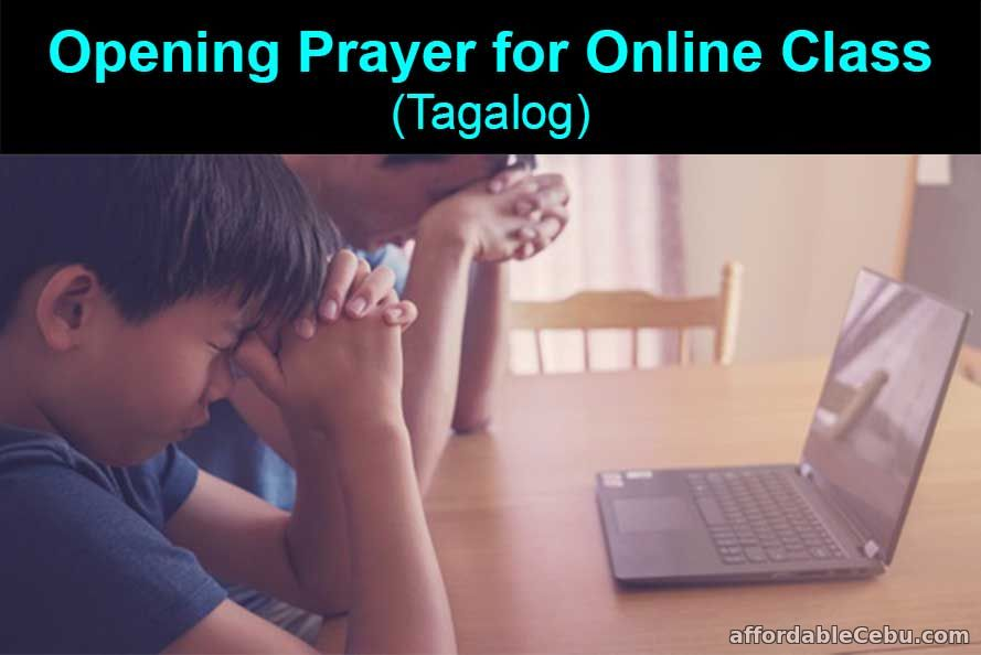Opening Prayer for Online Class - Tagalog
