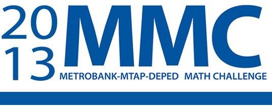 2013 Metrobank MTAP DepEd Math Challenge