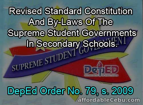 DepEd Order No. 79, s. 2009