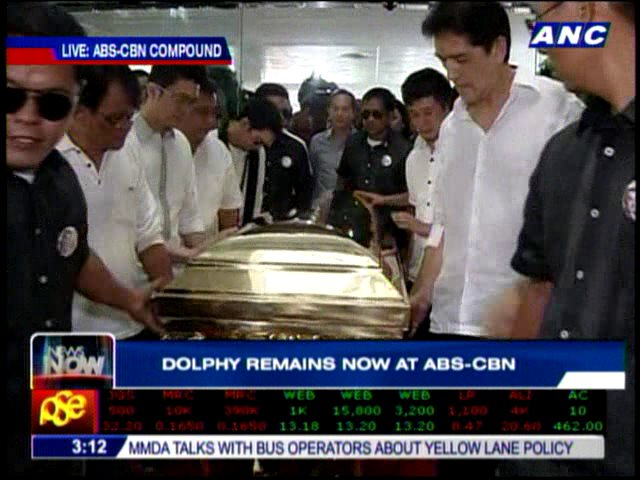 Dolphy Burial Live Streaming Video