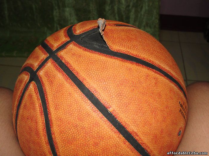 Damaged Basketball Ball