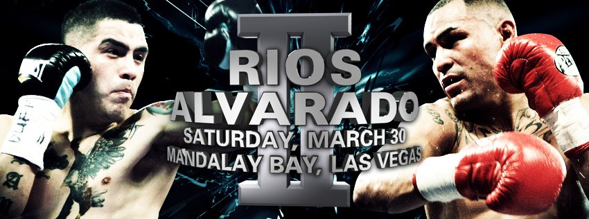 Rios vs Alvarado Boxing 2013