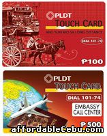 PLDT Touch Card