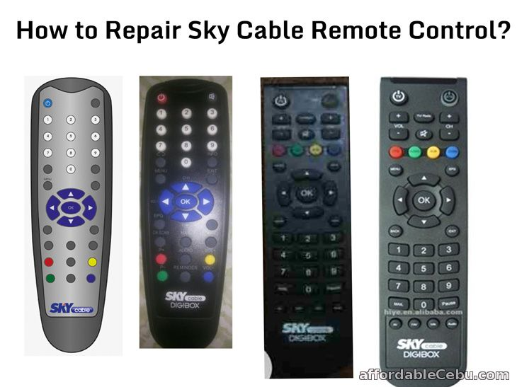 Repair Sky Cable Remote Control