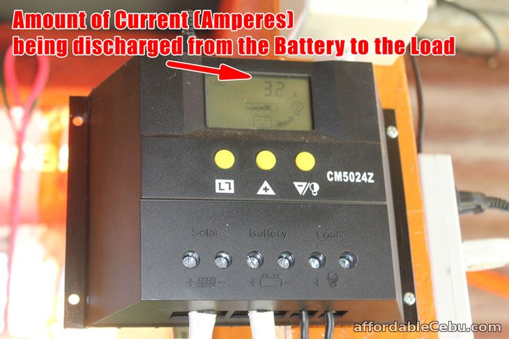 Output Current Solar Charger Controller