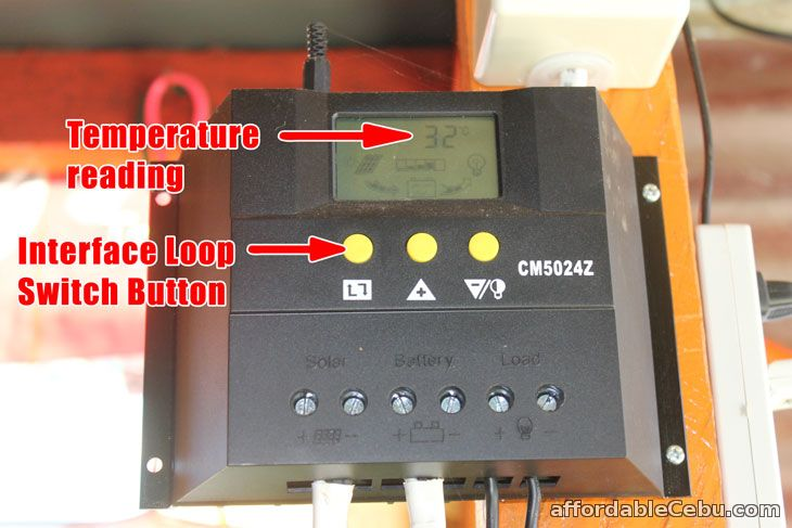 Temperature Solar Charger Controller
