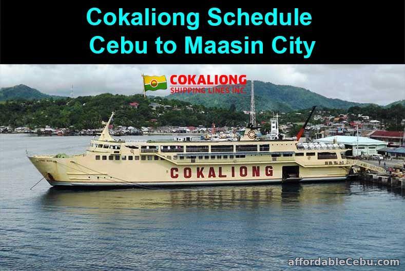Cokaliong Schedule Cebu to Maasin City