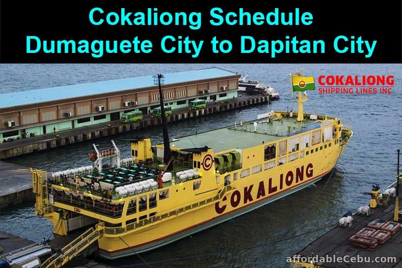 Cokaliong Schedule Dumaguete City to Dapitan City