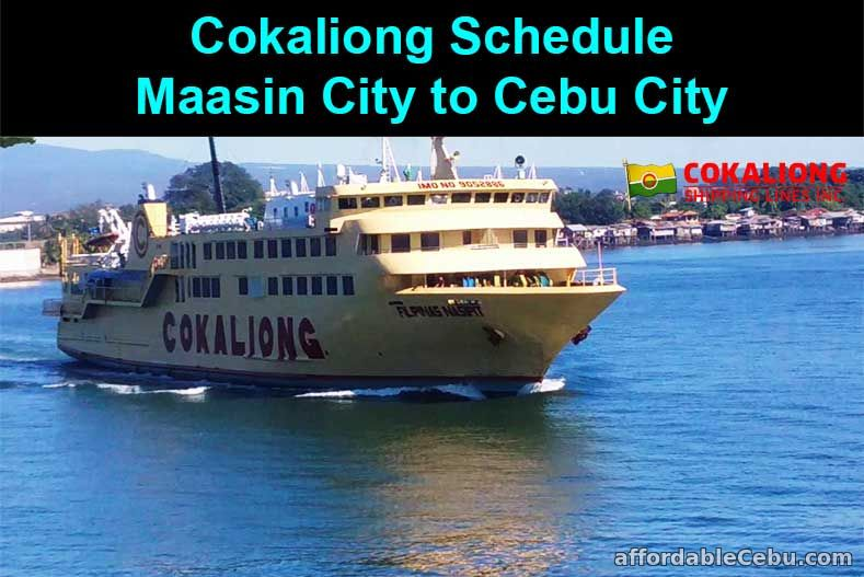 Cokaliong Schedule Maasin City to Cebu City