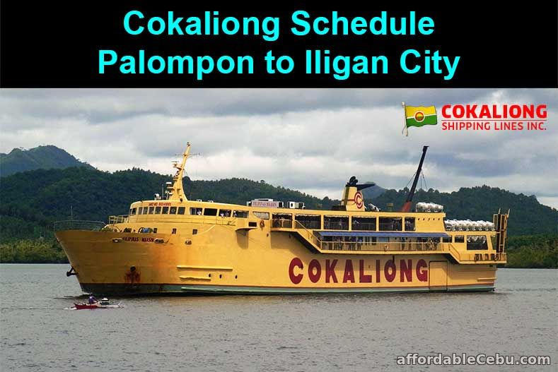 Cokaliong Schedule Palompon to Cebu City