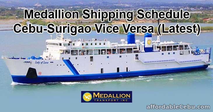 Medallion Shipping Schedule Cebu-Surigao Vice Versa (Latest)