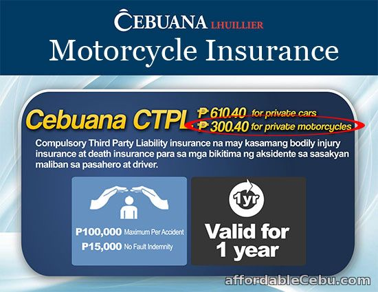 Cebuana Lhuillier Motorcycle Insurance