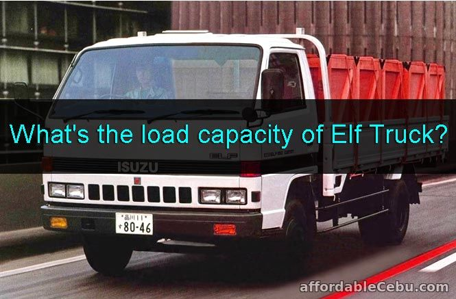 What's the load capacity of Elf Truck?