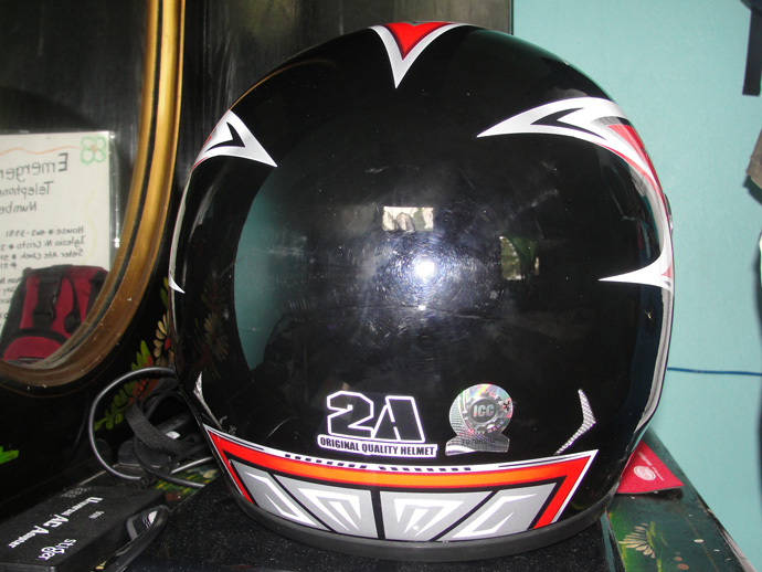 Motorcycle Helmet with ICC Sticker