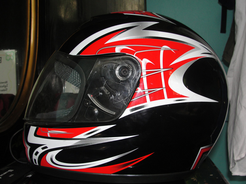 Motorcycle Helmet New Design