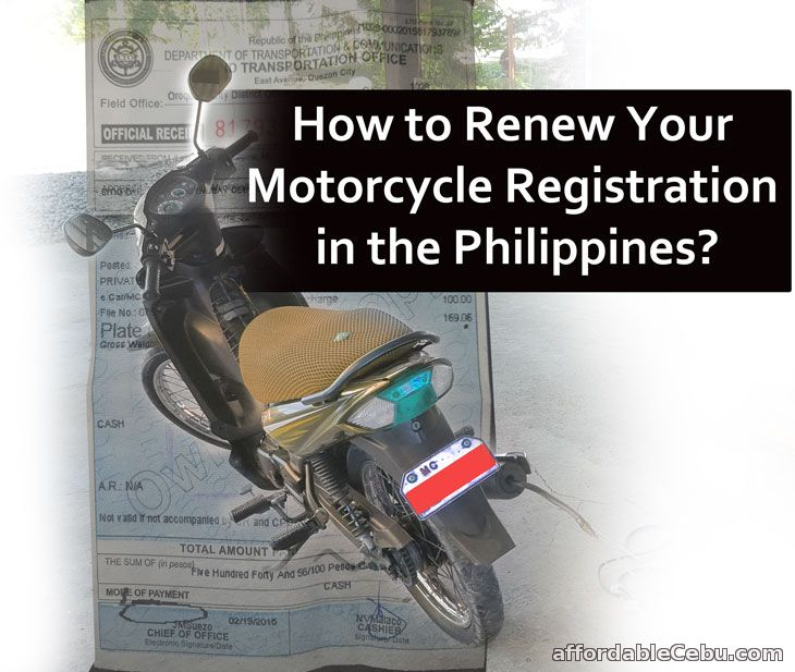 How to Renew Motorcycle Registration in the Philippines