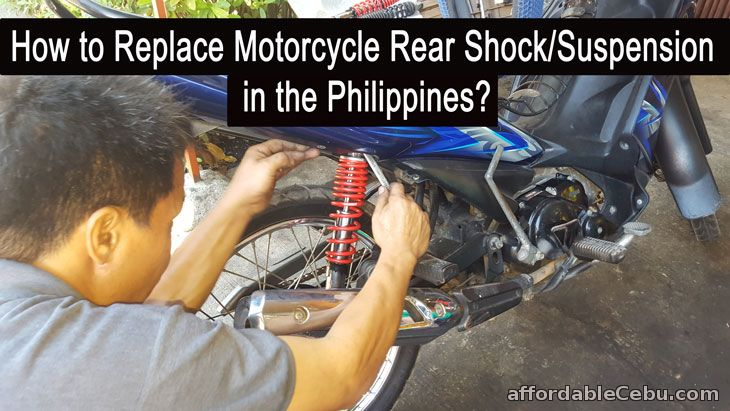 How to Replace Motorcycle Shock/Suspension in the Philippines